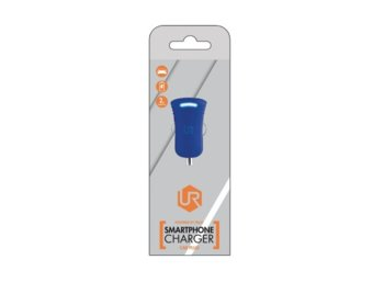 Trust UrbanRevolt 5W Car Charger - blue