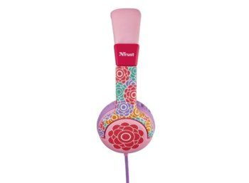 Trust UrbanRevolt Spila Kids Headphone - flower