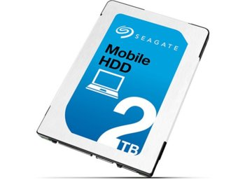 Seagate Mobile HDD 2TB 2,5'' 128MB ST2000LM007