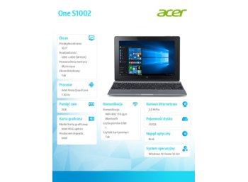 Acer One S1002-136J NT.G5CEP.005