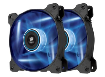 Corsair Fan SP120 LED Blue  High Static Pressure Twin Pack