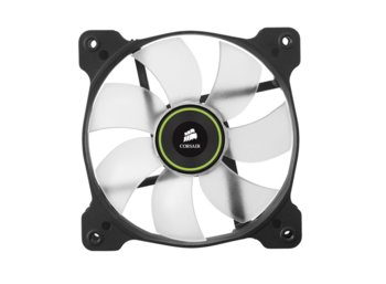 Corsair Fan SP120 LED Green High Static Pressure Twin Pack