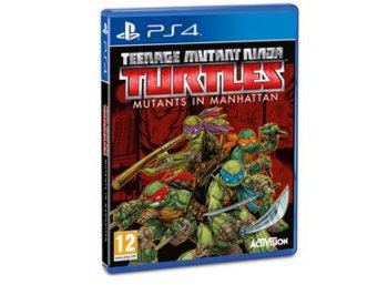 CD Projekt TEENAGE MUTANT NINJA TURTLES PS4