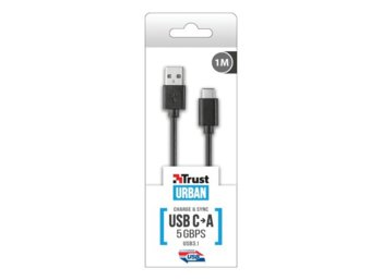 Trust USB3.1 TYPE-C to A CABLE 5GBPS 1M