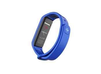 MyKronoz Activity Tracker ZeFit2 Blue Silver