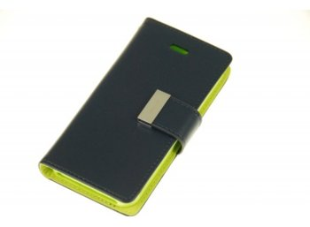 Mercury Etui RICH LG G2 granat/limonka, notes