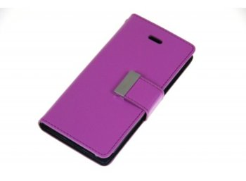 Mercury Etui Rich iPhone 5/5s/SE fiolet/granat, notes