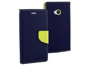 Mercury Etui FANCY GRAND 2 granat/limonka, notes