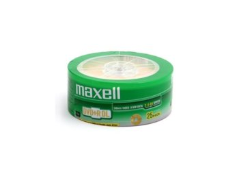 Maxell DVD+R 8,5GB 8X DOUBLE LAYER SP*25