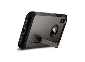 SPIGEN SGP  Tough Armor Gunmetal etui iPhone X
